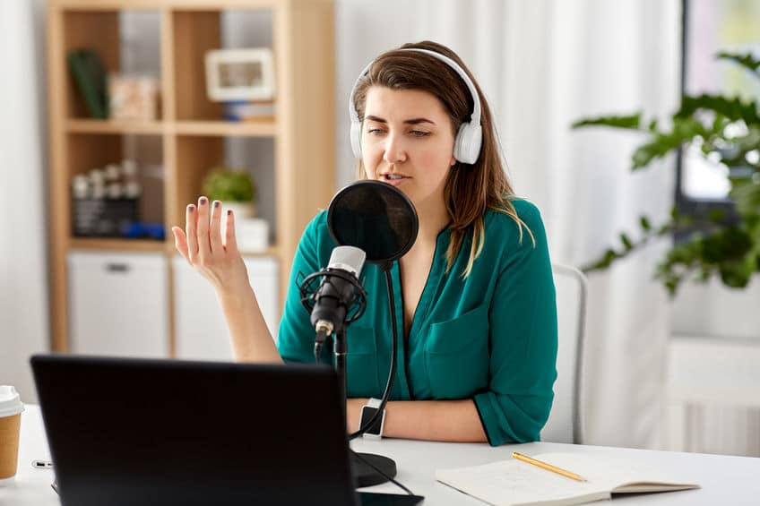 host podcast